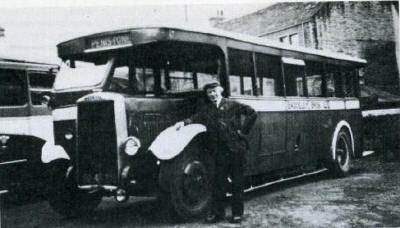 1921 Leyland LT1 Leyland B31R seat