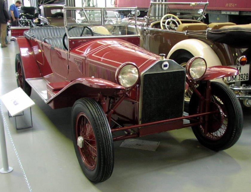 1923 MHV Lancia Lambda