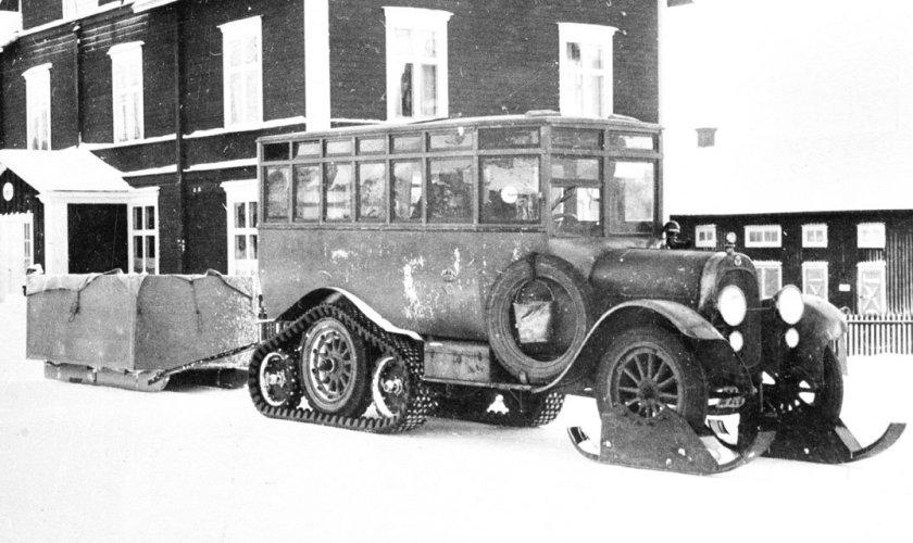 1923 SCANIA-VABIS AUTOBUS CHENILLE