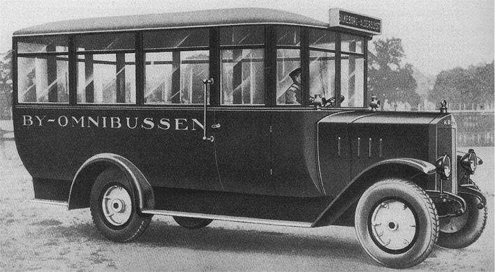 1924-25 2 t Stadtomnibus mit 40 PS von Krupp und Uerdinger Aufbau