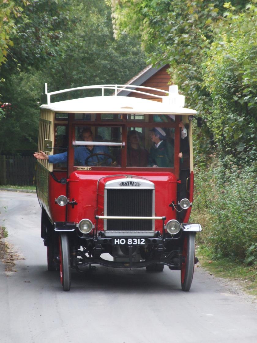 1924 Leyland bus, Amberley