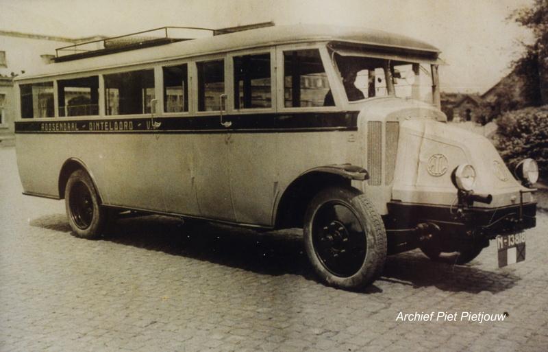 1925 Latil  Autobus - lijn  Dinteloord Roosendaal