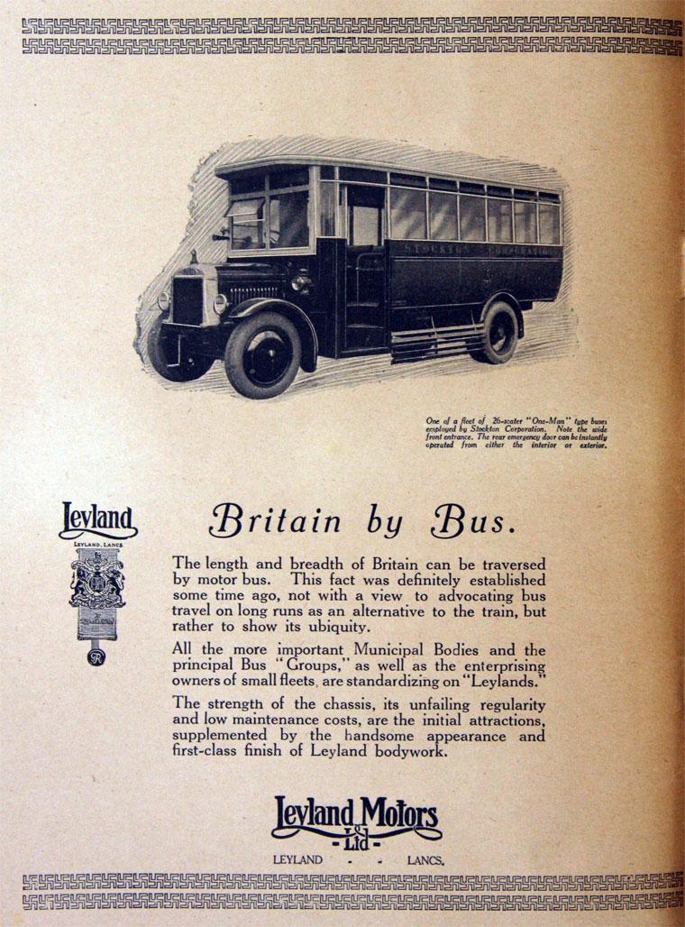 1925 Leyland Motors