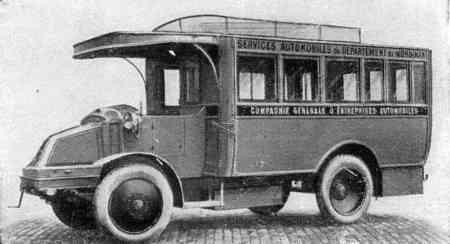 1926 latil autobus