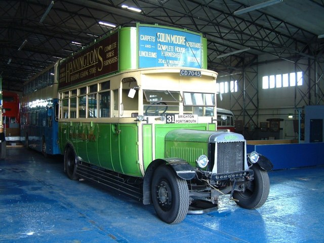 1926 Leyland G7 Short Brothers bodywork CD 7045