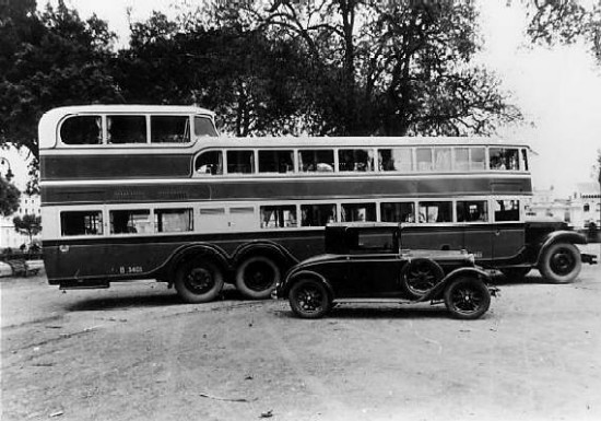 1927-36 Lancia Omicron 1927-1936. Een Lancia bus die ingezet werd voor lange afstandsreizen