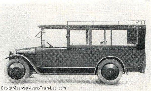 1927 latil autobus 14pl