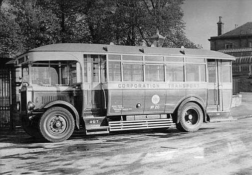 1927 Leyland PLSC1 Lions that were delivered to Dundee
