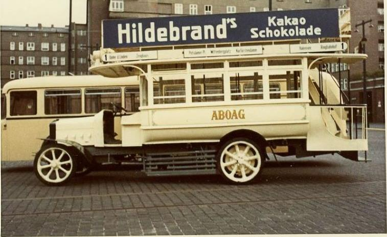 1928 Krupp Büssing Bus Berlin