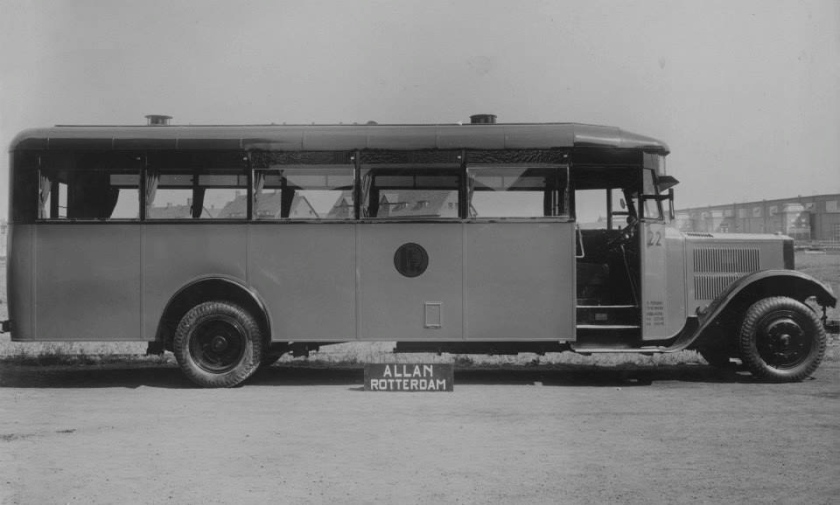 1929 Bus 22, Krupp, opbouw Allan
