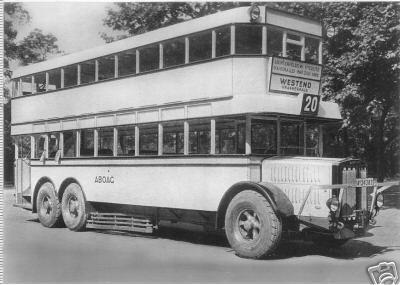 1929 Krupp ili Büssingbus 20 Berlin