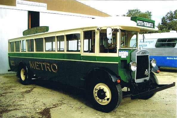 1929 Leyland LT1 Lion, ex Metro No.22 Australië