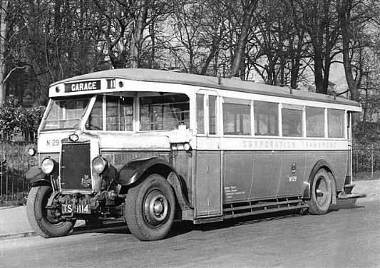 1929 Leyland Tigers, this is No.29 (TS 9114). ts9114