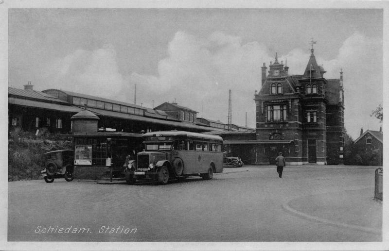 1930 2-4-krupp-werkspoor schiedam station NS
