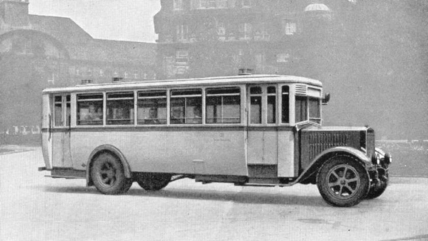 1930 Krupp 24 75 6 cylinder Omnibus (34 person)
