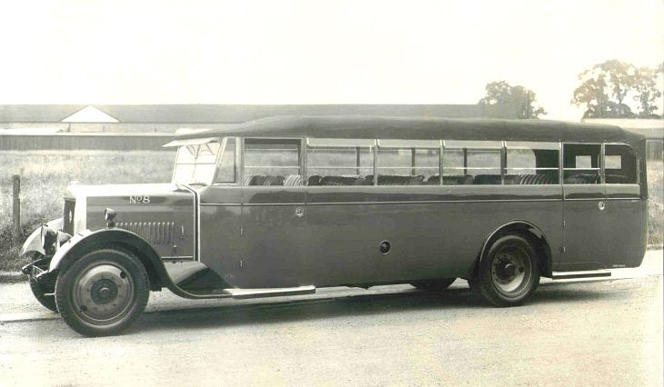 1930 Leyland Lioness, and has No.8