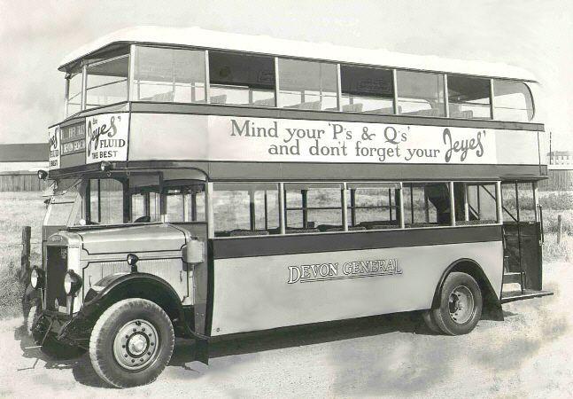 1930 Leyland Titan TD1 buses