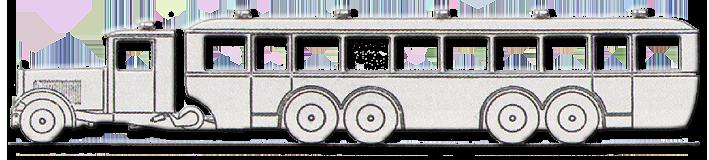 1931 Modell des Krupp-Flettner Großraumwagen – 1931