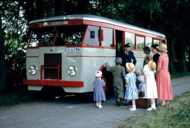 1932 Scania Vabis Buldog bus 1932