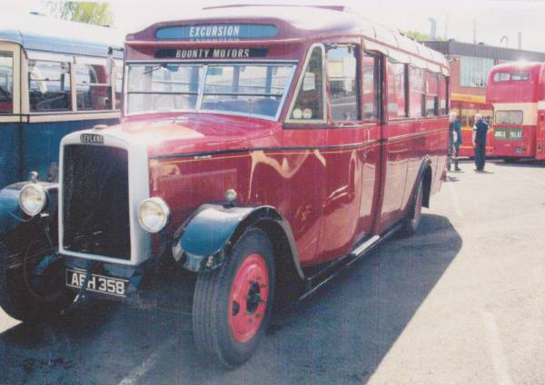 1933 Leyland Cub ABH358 with a Duple body