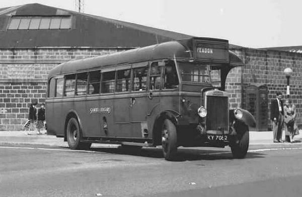 1934 ECW B33R body Leyland LT5B Lion Sam Ledg lgky7082