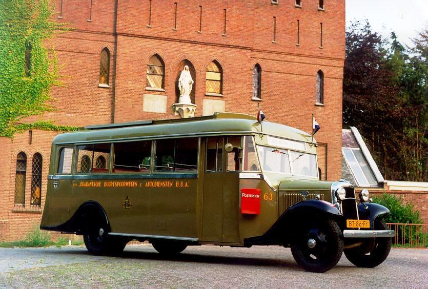 1934 Ford V8 - Kusters & Lemmens  BBA 63 Autobus SVA 63 erfg