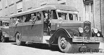 1934 Kromhout-bus-Kusters& Lemmens 1934 4 cyll. LTM nr 8