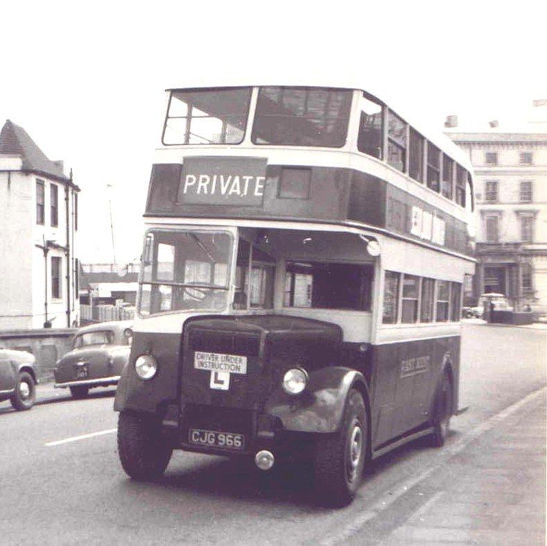 1934 LEYLAND LOWBRIDGE PD2
