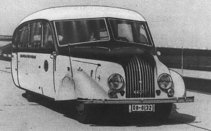 1935 Krupp O 2,5 N 42 Stromlinienomnibus mit Aufbau von FWR Recklinghausen