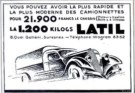1935 Latil ad