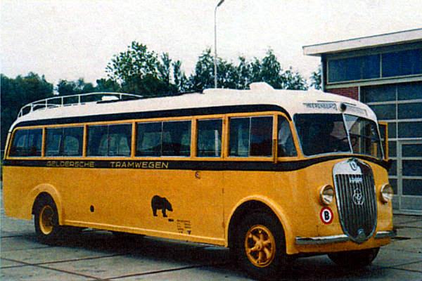 1936 Krupp 132 OD4N Geldersche Tramwegen 3cyl tweetakter
