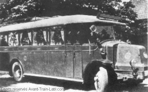 1937 latil bus