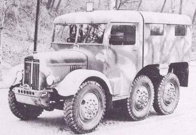 1937 Latil M2TZ 6x6