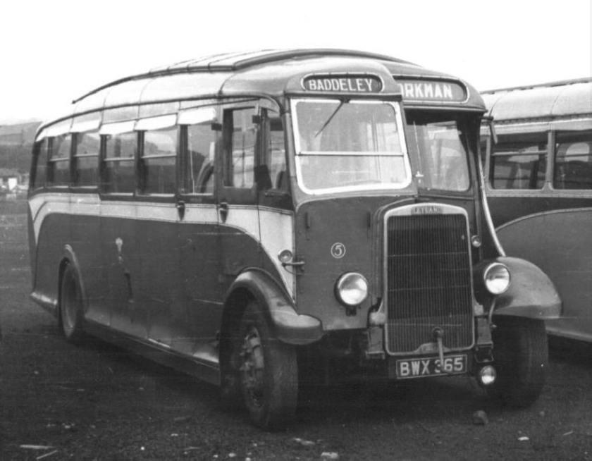 1937 Leyland LZ2 Waveney C32F seats 1937 - 1959