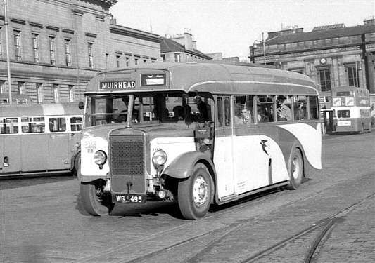 1937 Leyland TIGER TS7 Coronation P358 WG5495