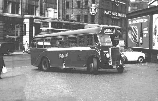 1937 Leyland TS7 new to Ledgard in 1937 with a Duple C32F body