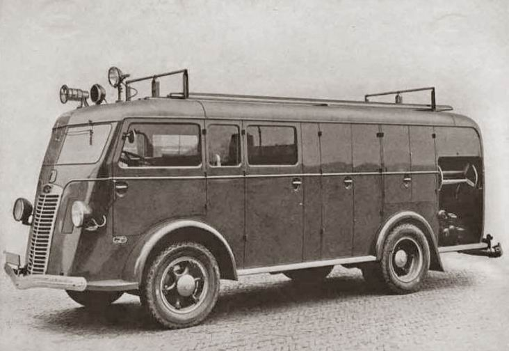 1938 Autocar-Kromhout-Geesink brandweerwagen