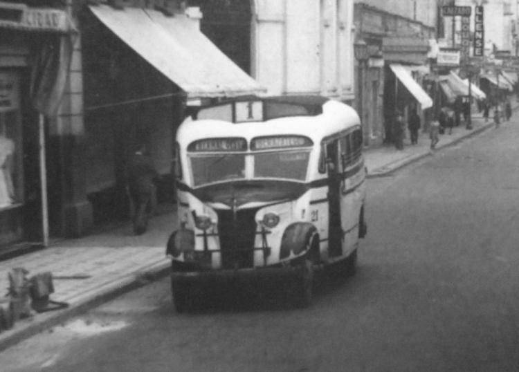 1938 Chevrolet - La Maravilla - Micro Ómnibus Quilmes
