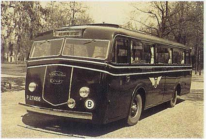 1938 Ford Kusters & Lemmens VADAH-bus 8 lijn Sittard- Echt-Roermond