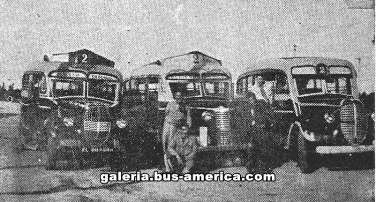 1938 FORD - V8) & CHEVROLET (G.M.C.) & FORD La Maravilla