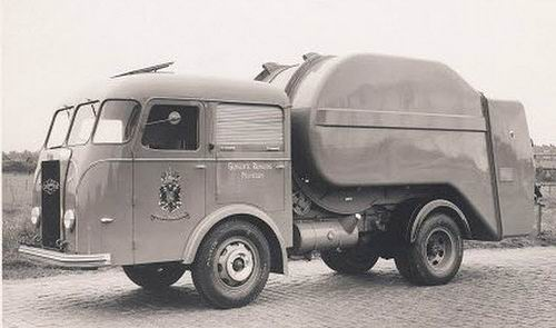 1938 Kromhout Vuilniswagen