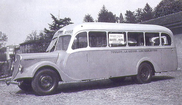 1938 LATIL BUS