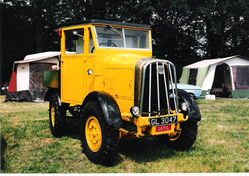 1938 Latil tracteur