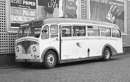1938 Leyland CHEETAH LZ2A halfcab Burlingham Body WG7261