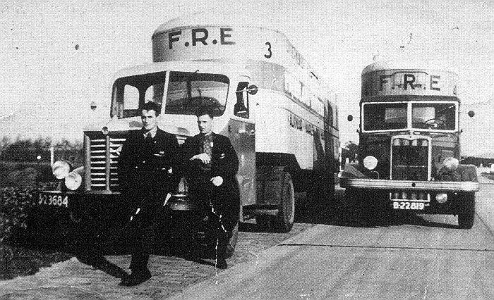 1939 Kromhout en Crosley van de FRE van Hielke Kramer