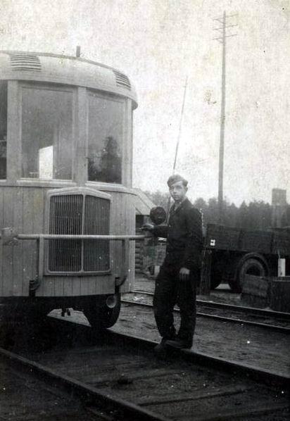 1939 kruppbusdrezina 2334 W railbus
