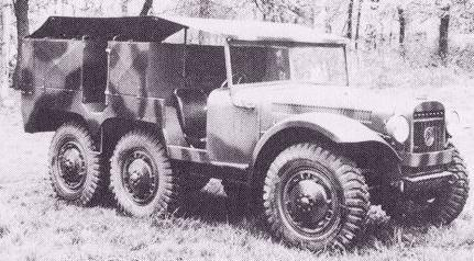 1939 Latil M7Z1, 1939-1940, 6x6 tractor, 31k b-w photo