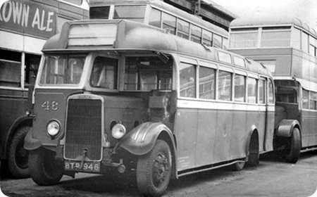1939 Leyland LZ4 Cheetah BTP-946 Wadham B32
