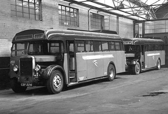 1939 LEYLAND TIGER TS8 Alexander body CSF226