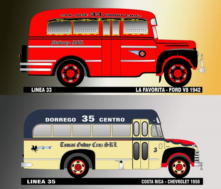 1942 FORD V8 & CHEVROLET 1950 La Favorita & Costa Rica